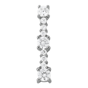 Diamond Journey Pendant 0.50 CT TW