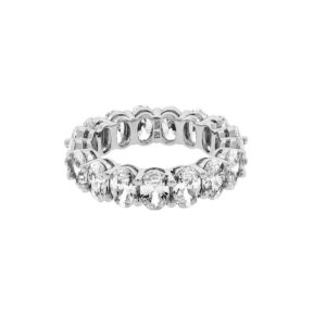Sterling Silver Maria Eternity Band