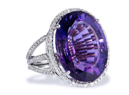 February's Birthstone Amethyst