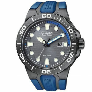 Men's Citizen Eco-Drive Scuba Fin Watch