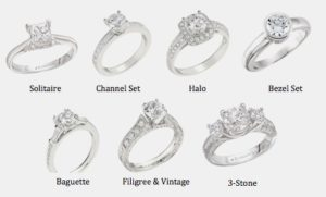 Engagement Rings Styles & Settings