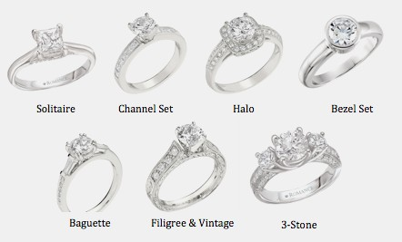 Engagement Rings Styles & Settings - Beryl Jewelers