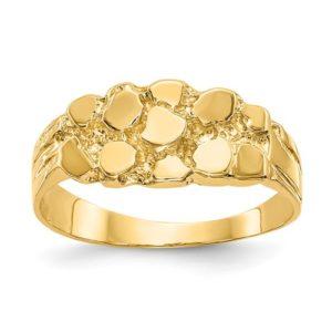 14k Nugget Ring