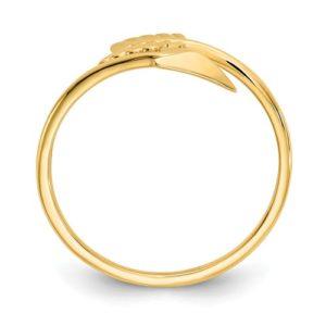 14K Polished Arrow Ring