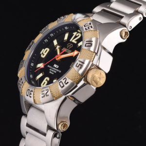 Men's Reactor Gamma 2 Titanium Watch