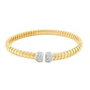0.26ctw Diamond Bella Cuff Bracelet